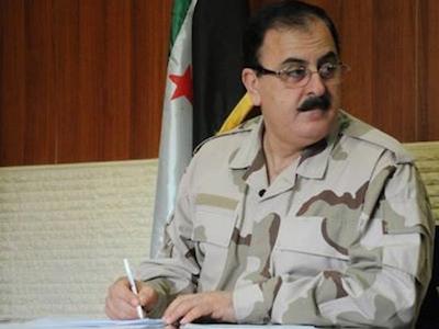 Лидер Свободной сирийской армии Салим Идрис