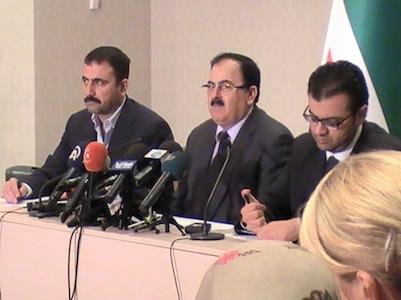 Пресс-конференция 14.09.2013. Лидер Свободной сирийской армии Салим Идрис