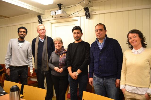 организация помощи беженцам в Норвегии