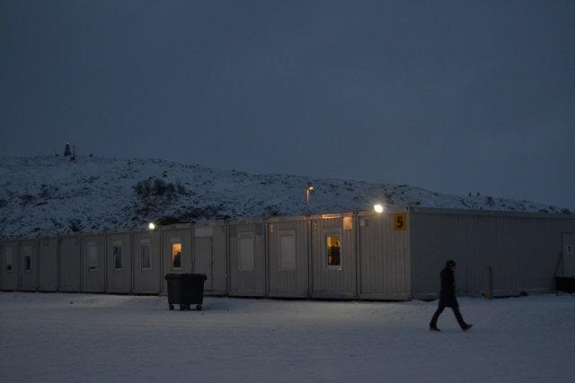 лагерь беженцев в норвегии