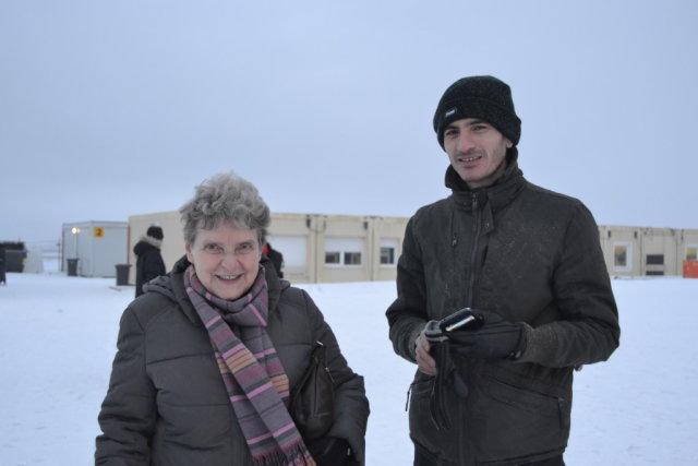 Светлана Ганнушкина и Омар