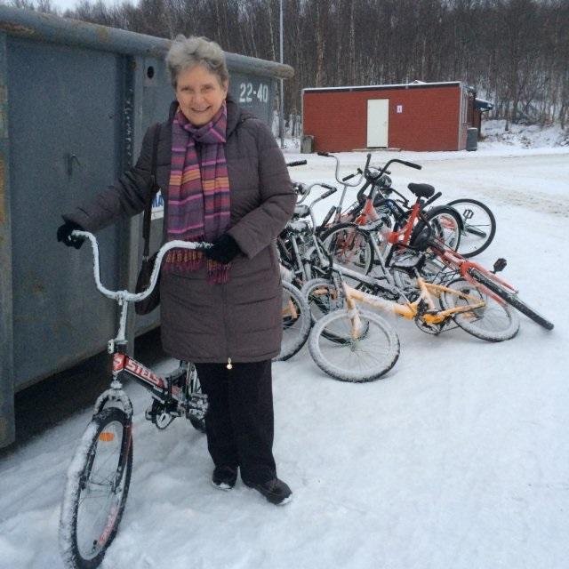 Светлана Алексеевна и велосипеды