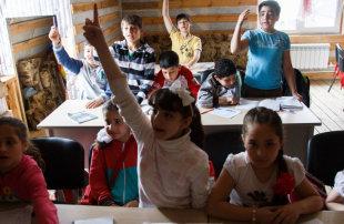 доступ к образованию и адаптация детей беженцев