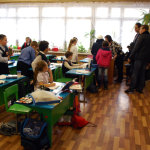Syrian children are being admitted to schools of Noginsk (town in the Moscow region).