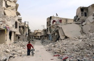 All Is Quiet In Aleppo'
