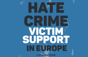 Committee's Employee Participated In Preparation Of The Book 'Hate Crime Victim Support in Europe – A Practical Guide'
