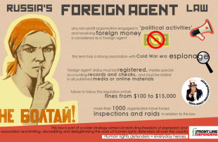 One Year With 'Foreign Agent' Label