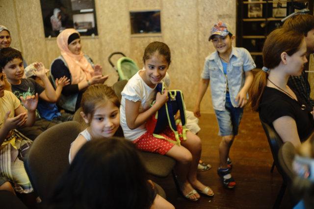 Беженцы отметили свой день вместе