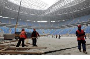 Россия получила «Красную карточку» за нарушения трудовых прав строителей стадионов к ЧМ-2018