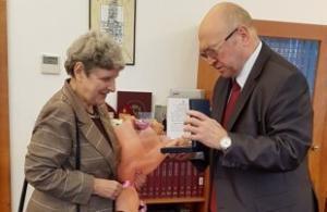 Svetlana Gannushkina Awarded Czech Government Medal