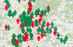 Комитет «Гражданское содействие» представил карту нападений на почве ненависти