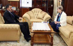 Глава Ингушетии Юнус-Бек Евкуров встретился со Светланой Ганнушкиной