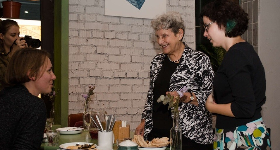 Видео: встреча Светланы Ганнушкиной с волонтерами