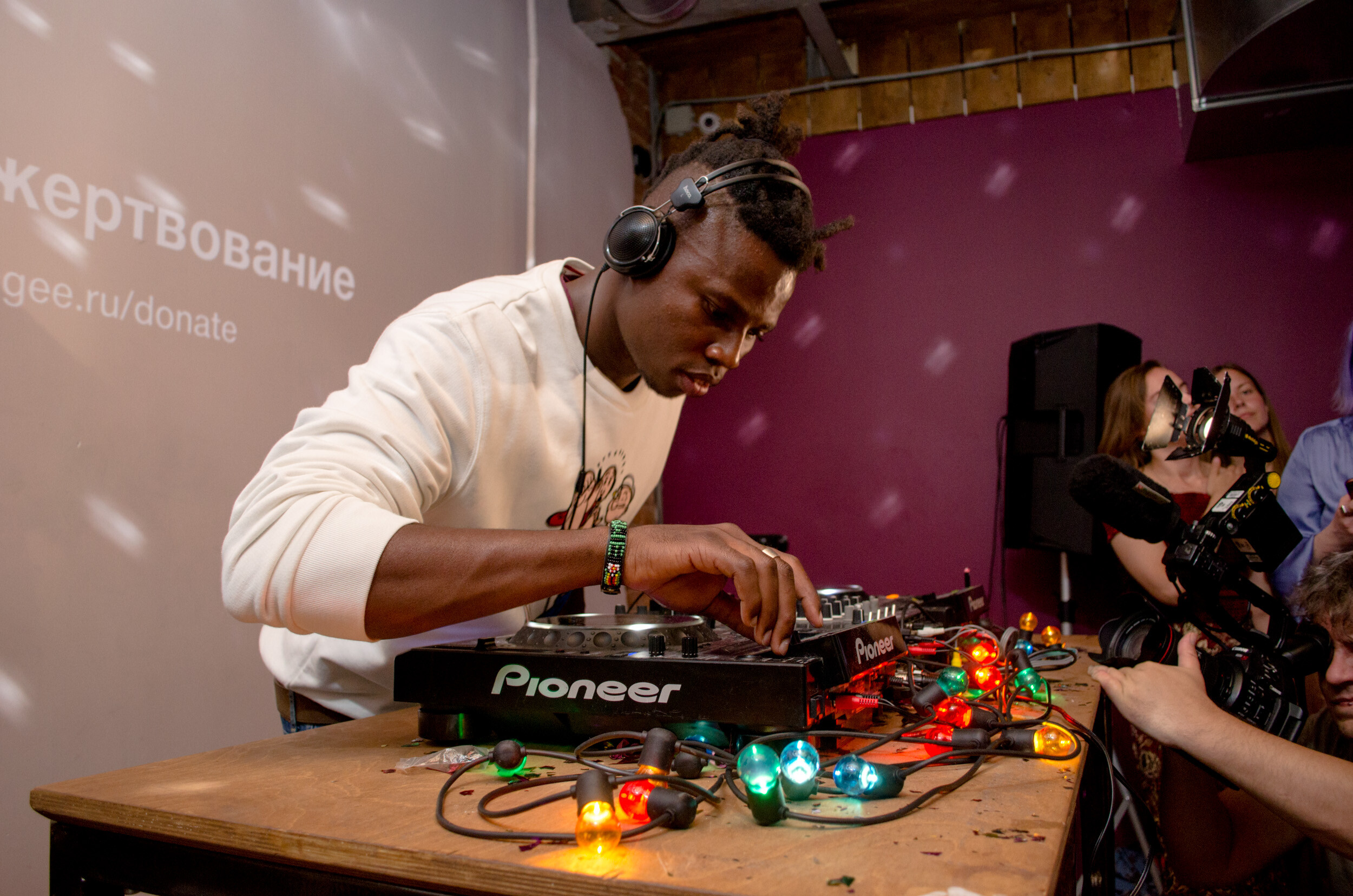 Surviving Moscow as a Refugee DJ From Zimbabwe