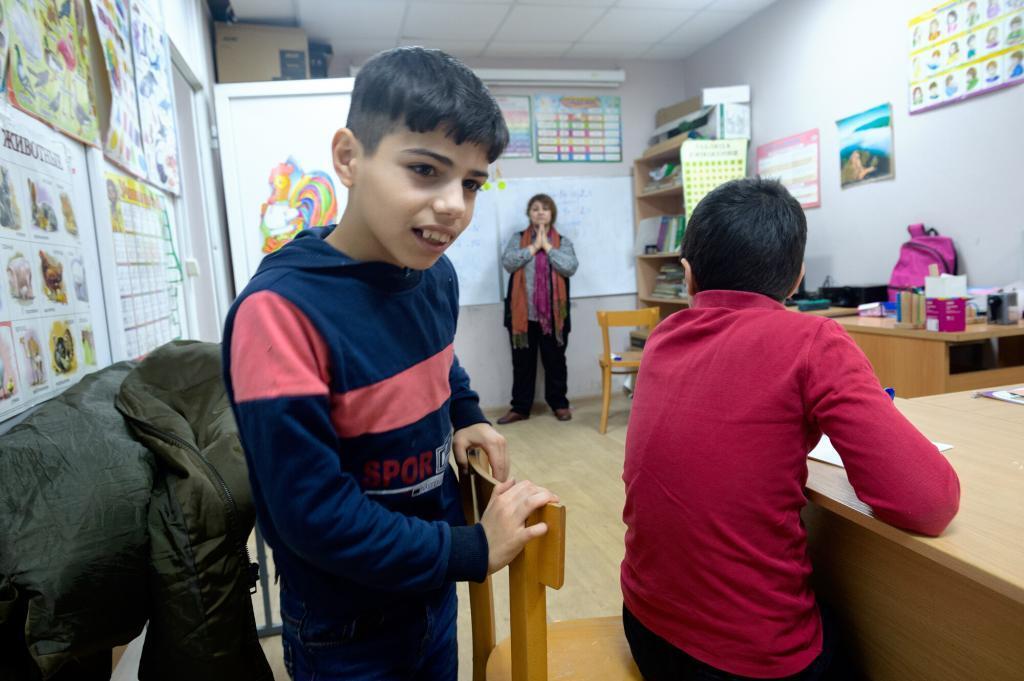Я хочу: жизнь и мечты в школе для детей беженцев