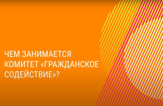 #УрокиСтойкости: Комитет «Гражданское содействие»