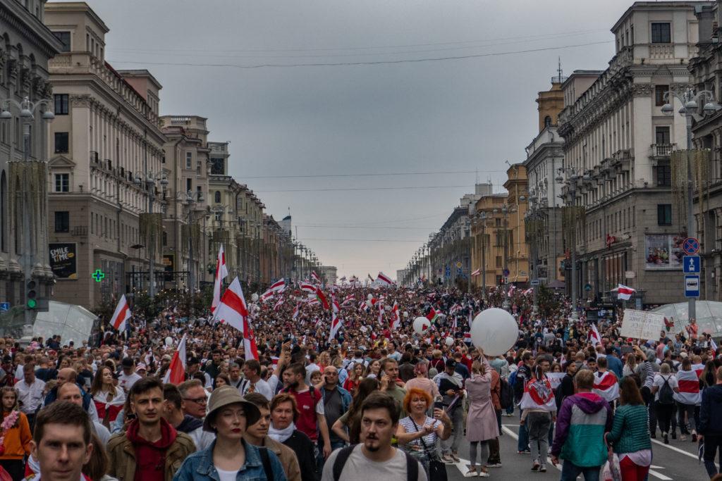 Гражданам Беларуси: «Мы разделяем ценности, за которые вы боретесь. Мы солидарны с вами и верим в вас»